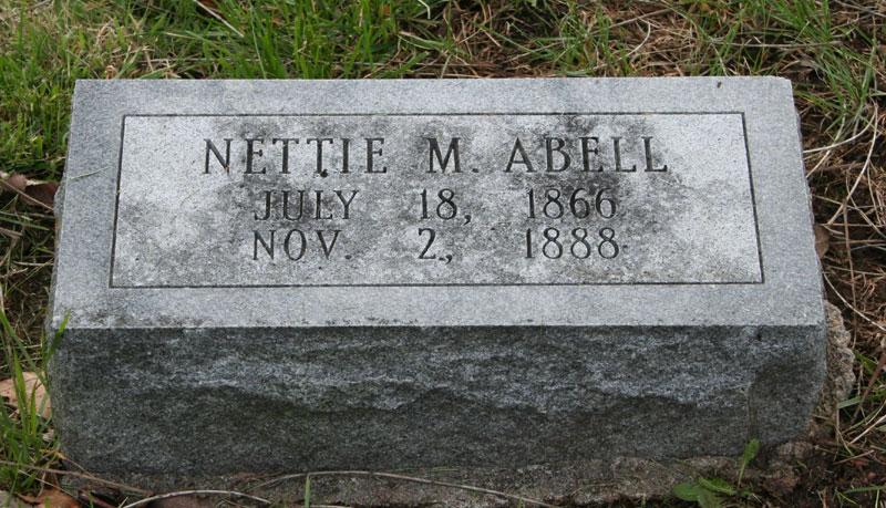 Nettie M. Abell
