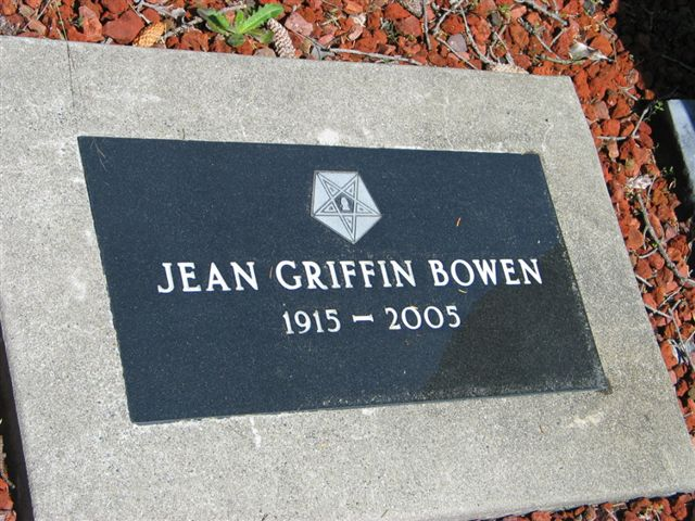 Jean <i>Griffin</i> Bowen