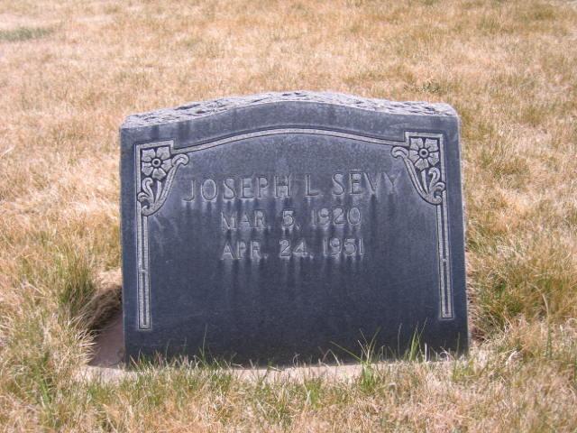 Joseph LeRoy Sevy