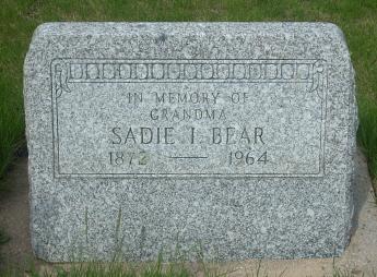 Sadie I. <i>Woodruff</i> Bear