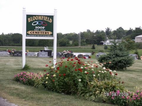 Bloomfield IOOF Cemetery