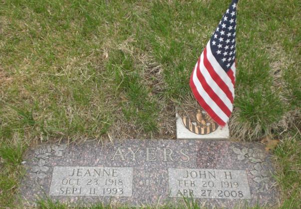 Jeanne Francis <i>Wolcott</i> Ayers