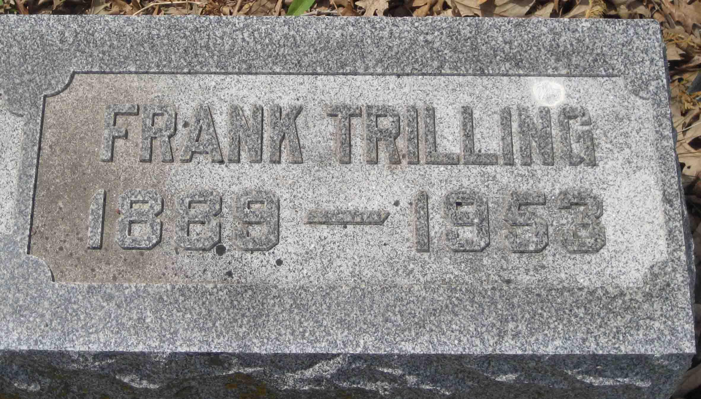 Frank Trilling