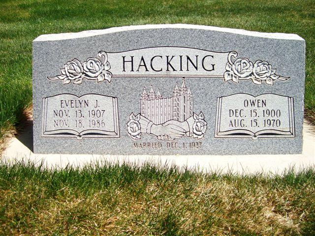Evelyn <i>Johnson</i> Hacking