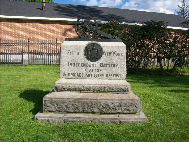 5th New York Independent Battery Monument
