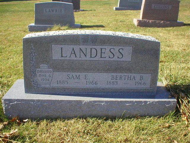 Samuel Edward Landess