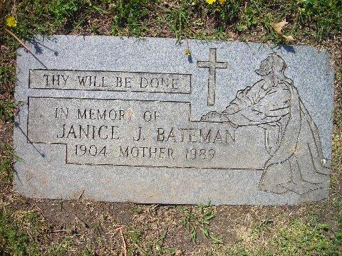 Janice <i>Johnson</i> Bateman