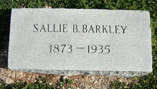Sallie Beatrice <i>Quinney</i> Barkley
