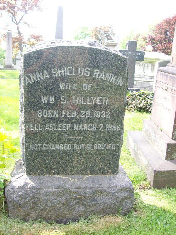 Anna Shields <i>Rankin</i> Hillyer
