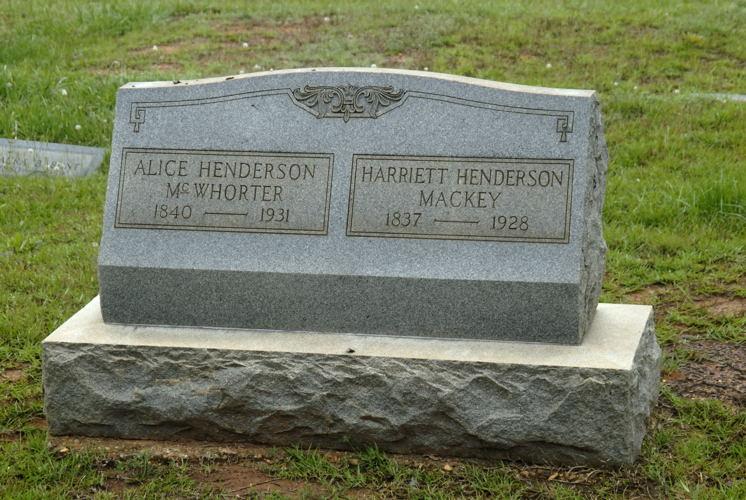 Harriett <i>Henderson</i> Mackey