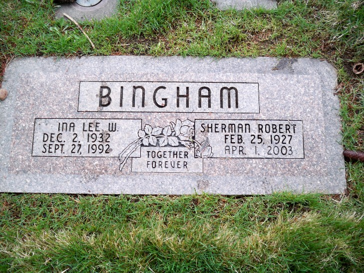Ina Lee <i>Watson</i> Bingham