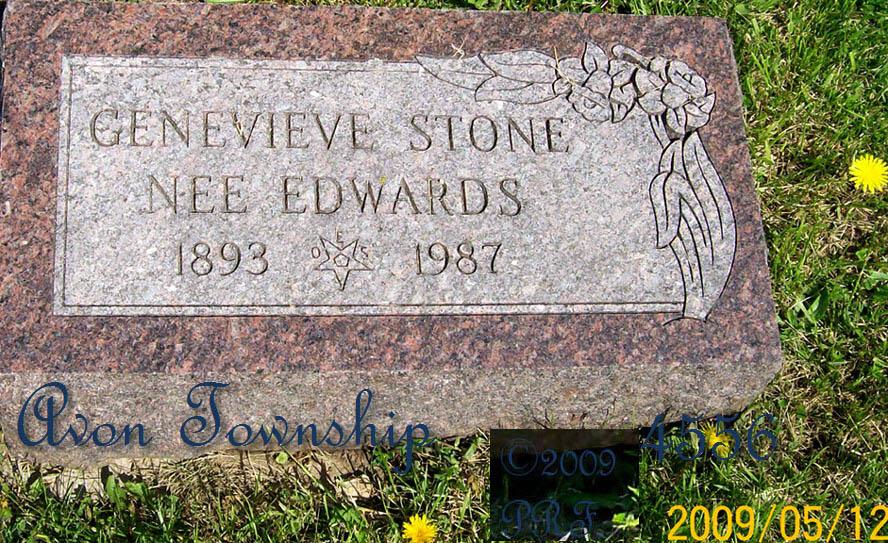 Genevieve <i>Edwards</i> Stone