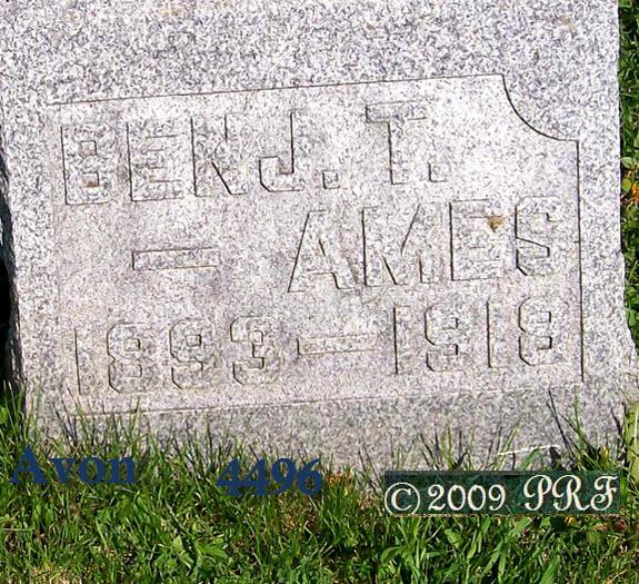 Benjamin Thorne Ames, Sr