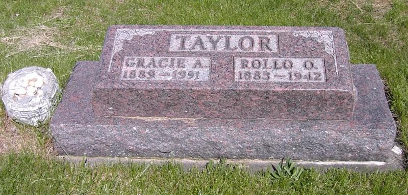 Grace Agnes Gracie <i>Miller</i> Taylor