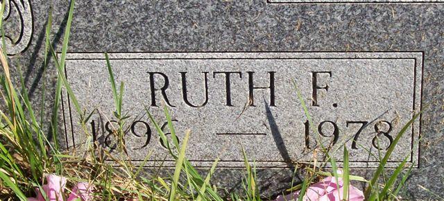 Ruth F. <i>Harvey</i> Bennett