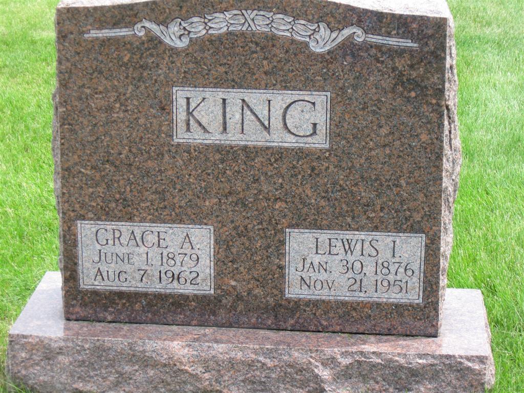 Grace Amanda <i>Zook</i> King