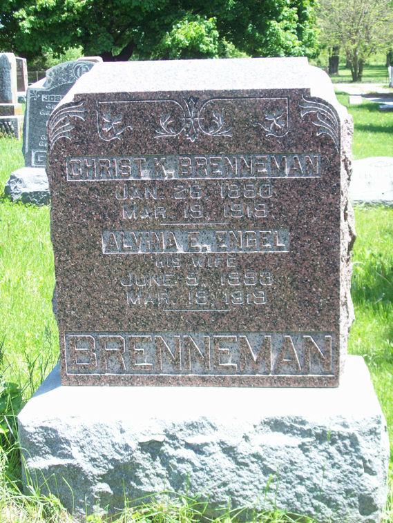 Alvina E. <i>Engel</i> Brenneman