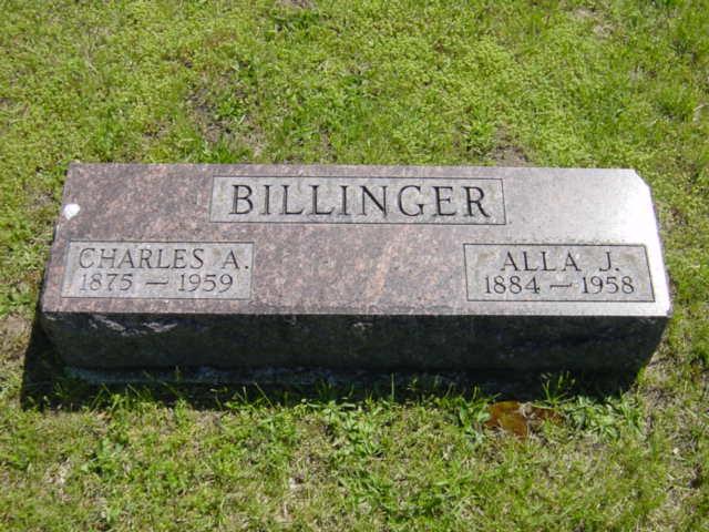 Alla Jane <i>Lee</i> Billinger
