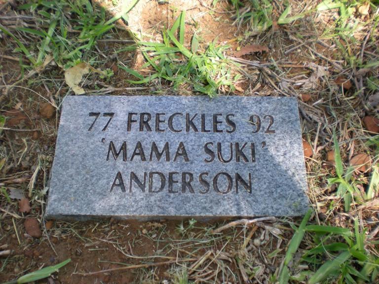 Freckles Mama Sookie Anderson