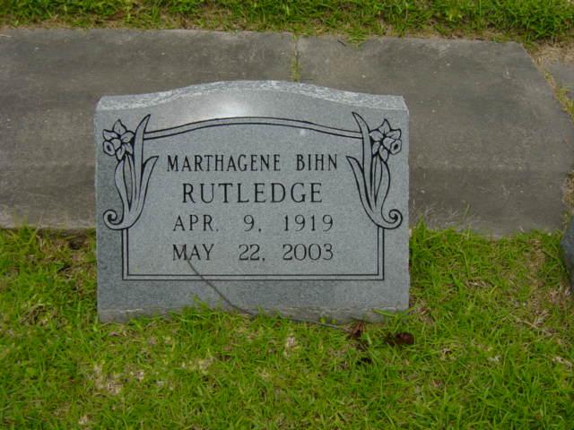 Marthagene <i>Bihn</i> Rutledge