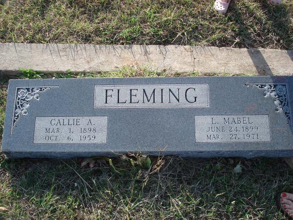 Callie Alexander Fleming