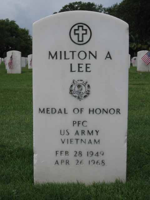 PFC Milton Arthur Lee