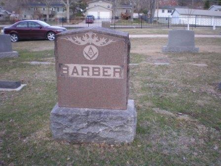 Mrs Margaret Park <i>Chamberlin</i> Barber
