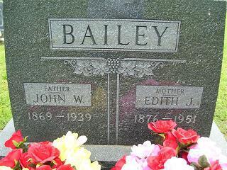 Edith J Bailey