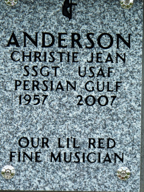 Christie Jean Lil Red Anderson