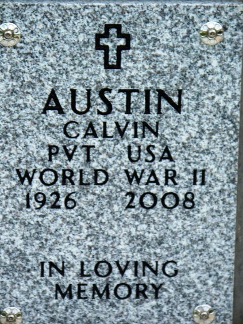 Pvt Calvin Austin