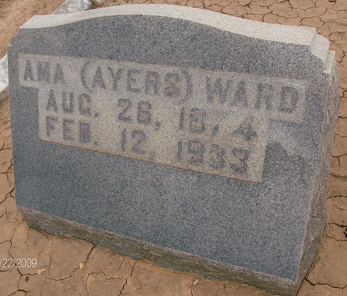 Ama Anah <i>Ayers</i> Ward