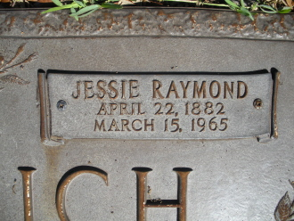 Jessie Dean <i>Raymond</i> Gerberich