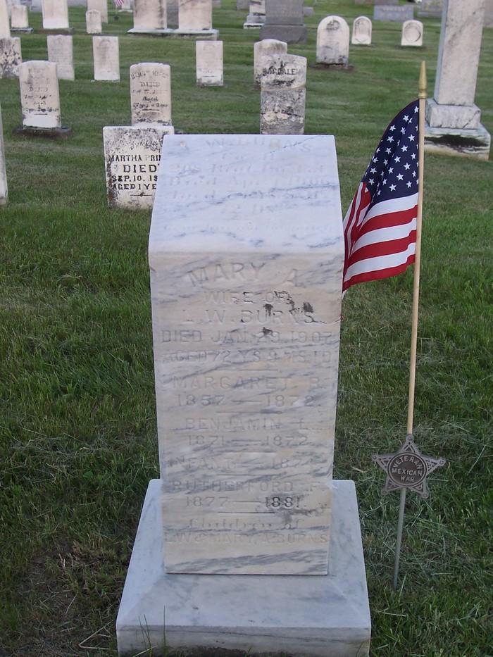 Pvt Lafayette W. Burns