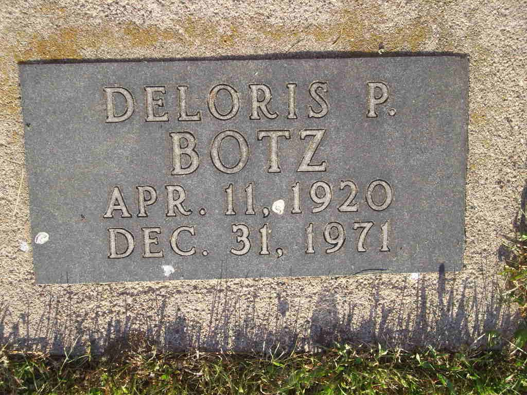 Deloris Pearl <i>McGee</i> Botz