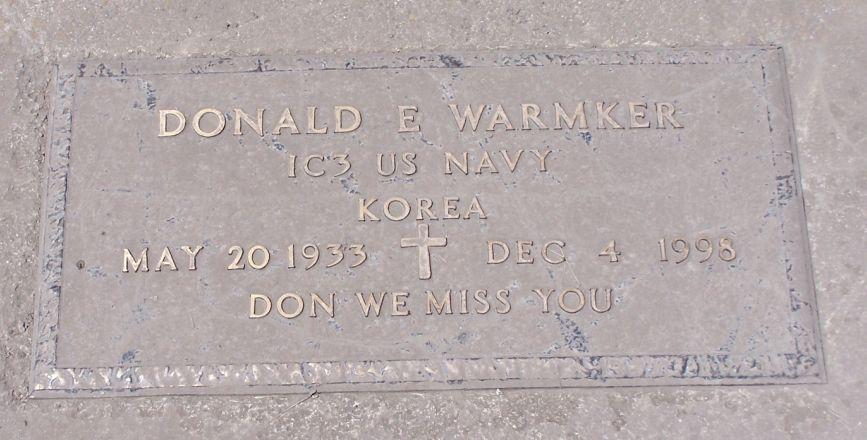 Donald E. Warmker