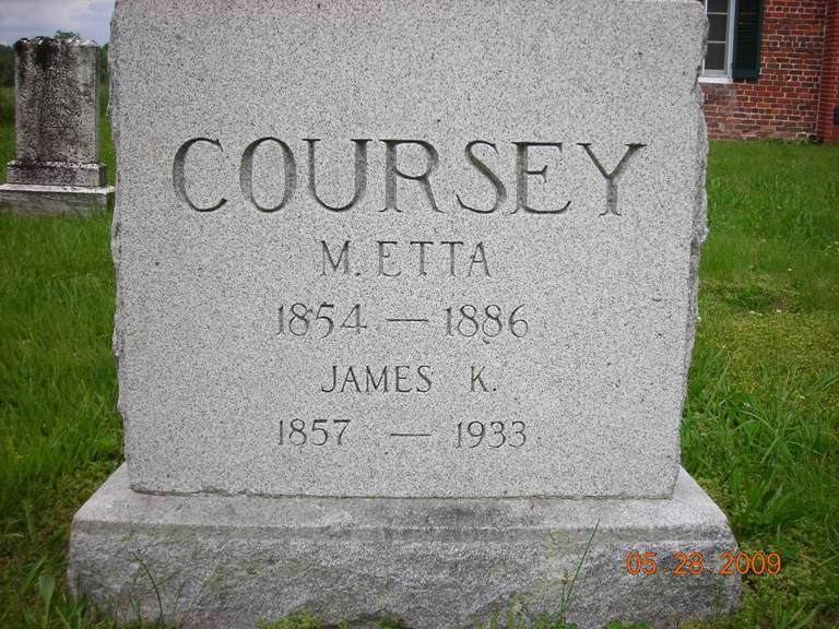 M Etta Coursey