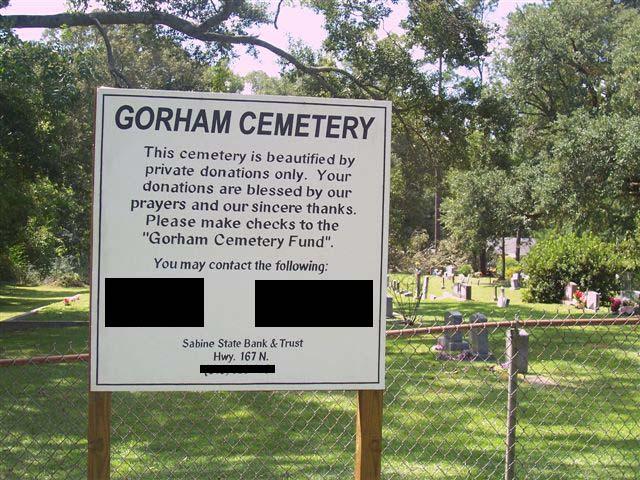 Gorham Town Cemetery