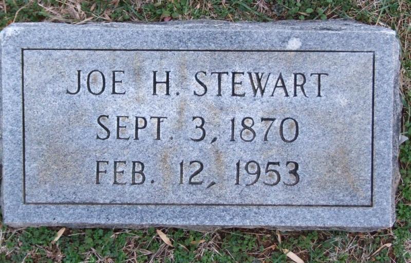 Joe H Stewart