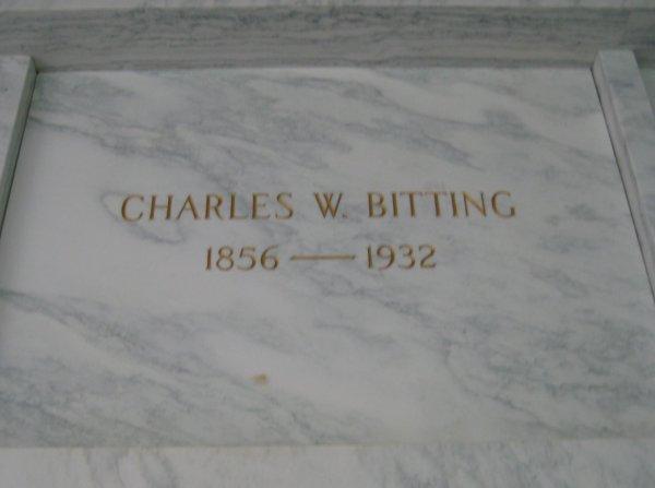 Charles W Bitting, Sr