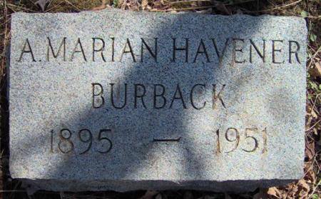 A. Marian <i>Havener</i> Burback