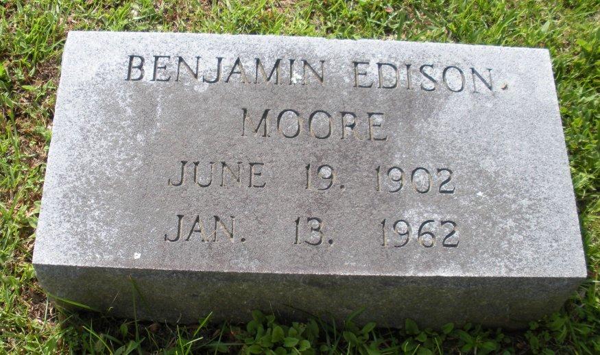 Benjamin Edison Moore