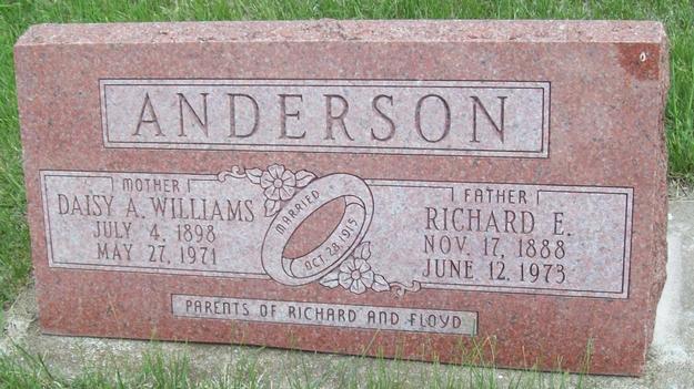 Daisy Adelaide <i>Williams</i> Anderson