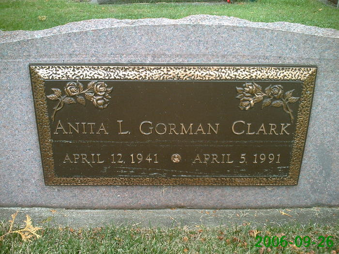 Anita Louise <i>Gorman</i> Clark