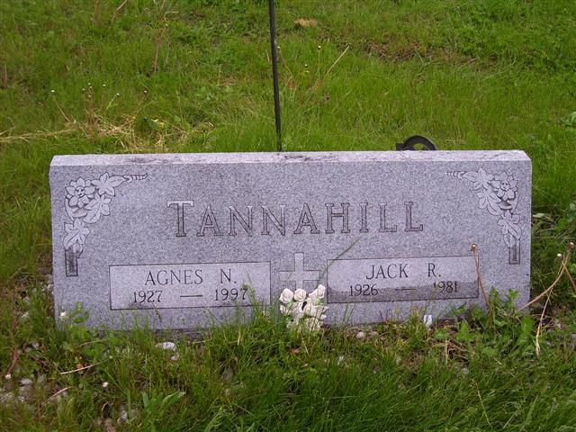 Agnes Norene <i>Sawyer</i> Tannahill