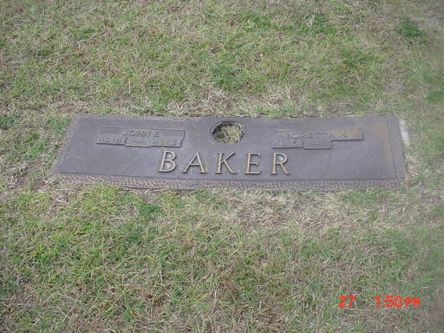 John E Baker