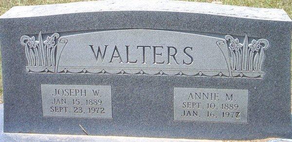 Annie Missouria <i>Creel</i> Walters
