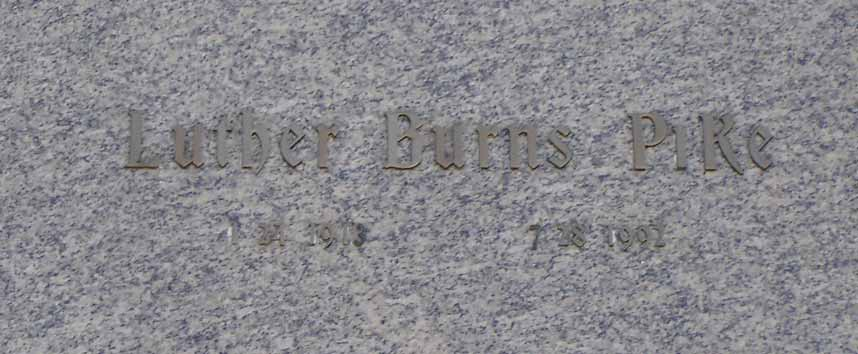 Luther Burns Pike