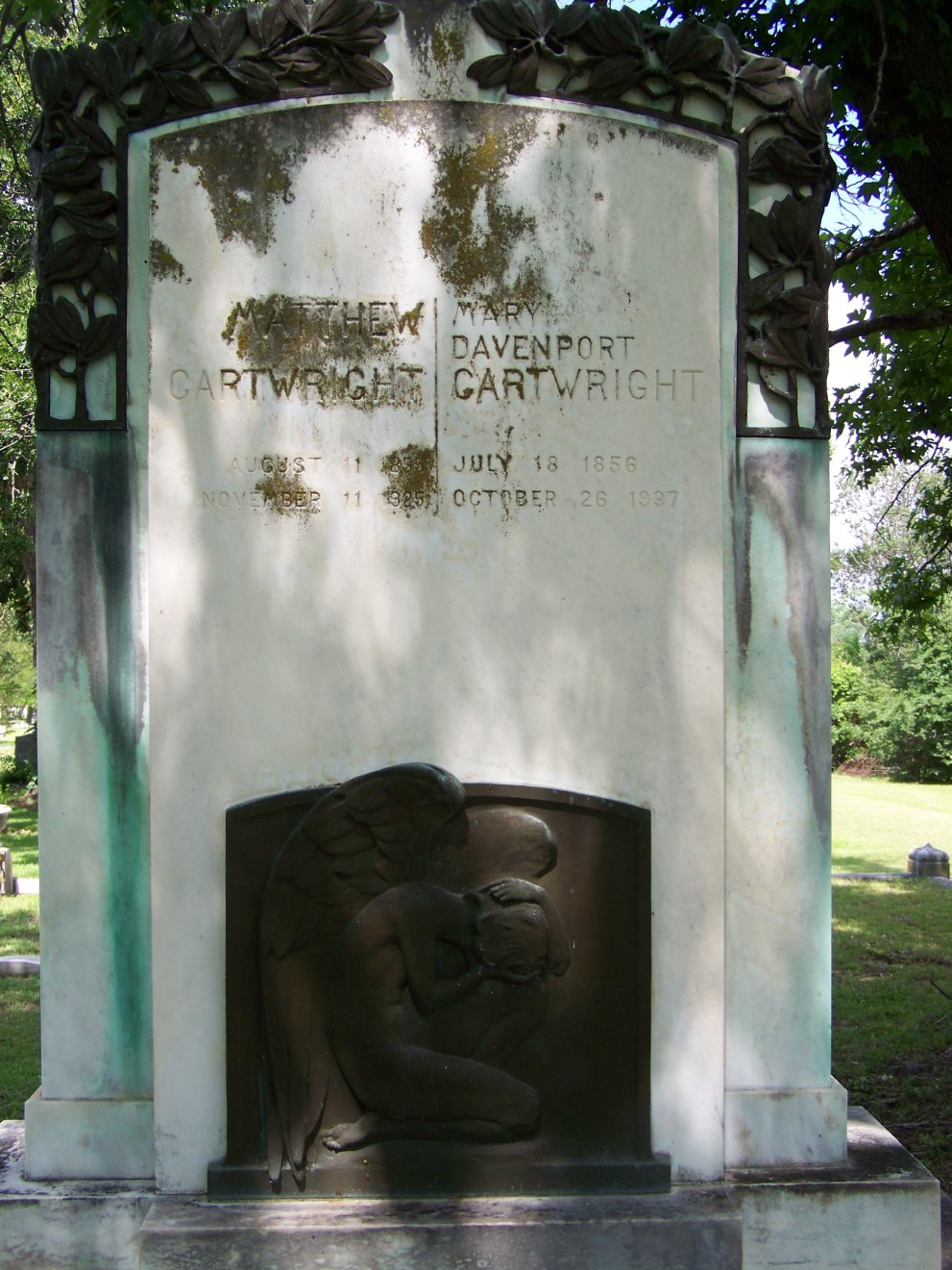 Mary Cynthia <i>Davenport</i> Cartwright