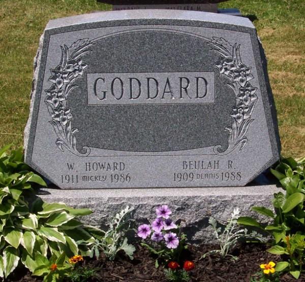 William Howard Mickey Goddard