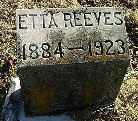 Etta <i>McGuire</i> Reeves